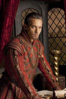 27 juli 2013: Zorgelijk. Foto: vandaag jarig: Jonathan Rhys Meyers kijkt zorgelijk in de rol van Koning Hendrik VIII in The Tudors (2007–2010)