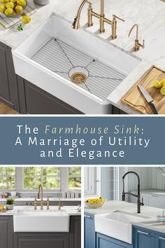 Modern Architecture House, Furniture Design Living Room, Farmhouse Sink, Kitchen Remodel, Cabin Interiors, Kitchen Renovation, Sink, Kitchen Design, Shabby Chic Kitchen