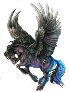 Black Pegasus Mobil Oils and Lubricants are supplied in the UK by Chemical Corporation (UK) Ltd www.chemcorp.co.uk #dragon #tattoos #tattoo