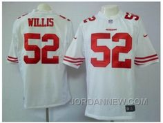 http://www.jordannew.com/nike-san-francisco-49ers-52-willis-white-game-jerseys-free-shipping.html NIKE SAN FRANCISCO 49ERS #52 WILLIS WHITE GAME JERSEYS SUPER DEALS Only 21.74€ , Free Shipping!