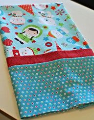 tutorial for making pillowcases with french seams.