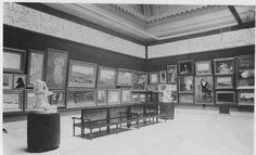 Carnegie International Exhibition 1896 at Carnegie Museum of Art  Pittsburgh: Installation view