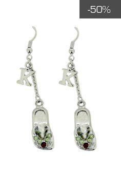 #kookai #jewels - Orecchini pendenti con ciondolo #infradito