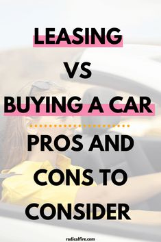 Leasing a car is increasingly popular nowadays. Is it actually a good financial decision? Here are the pros and cons of leasing vs buying a car. Save Money On Groceries, Ways To Save Money, Budgeting Finances, Budgeting Tips, Wealth Management, Money Management, Best Money Saving Tips, Saving Money, Dividend Investing