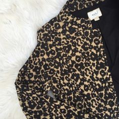 | ECI | Leopard Blazer Leopard blazer by ECI, in excellent condition. This blazer is so cute and professional at the same time! ECI Jackets & Coats Blazers