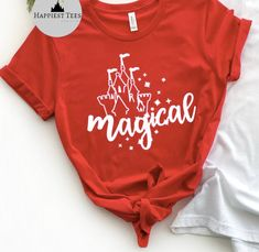 Excited to share this item from my #etsy shop: Magical Disney Shirt | Magic Kingdom Shirt | Disney Womens Shirt| Disney T Shirt | Matching Family Disney Shirts | Disney Vacation Shirt Disney Vacation Shirts, Disney Shirts For Family, Disney Vacations, Family Shirts, Matching Disney Shirts, Magic Kingdom, Colorful Shirts, Etsy Shop, How To Wear