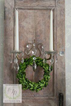 Limed Oak Wall Sconc
