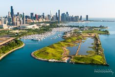 Northerly Island Chicago; used to be Meigs Field...