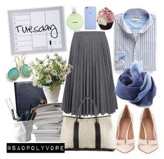 """""""Tuesday (31/5/2016)"""" by saopolyvore ❤ liked on Polyvore featuring Ippolita, Coach, J.W. Anderson, ESSEY, MANGO, DESTIN, Hermès and Chanel"""