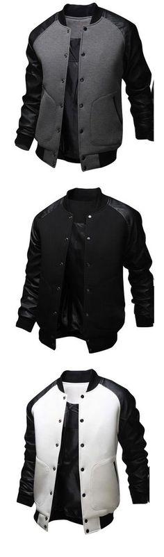 Men's Long Sleeve Casual / Formal / Long Sleeve Jacket/Coat #MensFashionFormal