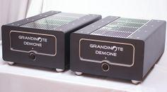 Grandinote Demone   Power Amp Grandinote Domino   Pre Amp (not depicted) At Home Movie Theater, Audio, Marshall Speaker, Amp