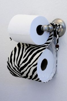 Items similar to Zebra black n off-white bath accessory set on Etsy Zebra Print Bathroom, Zebra Decor, Ideas Para Organizar, Zebras, Bath Accessories, Decoration, Toilet Paper, Household, Diy Projects