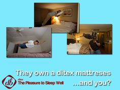 ...when you go to #buyamattress ask for a #ditex ...you'll see the difference. Visit us www.ditexbed.com