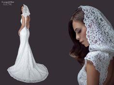 claudio di mari collection wedding gown