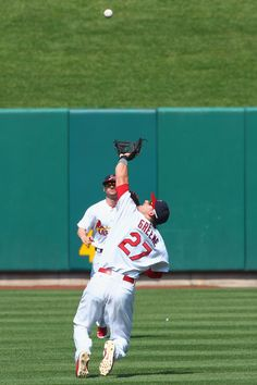 Tyler Greene with a great catch 5-27-12