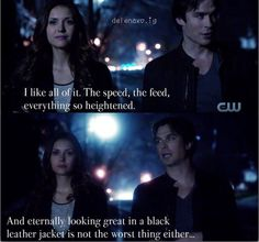 "#TVD 6x20 - ""I'd Leave My Happy Home For You"" - Elena and Damon"