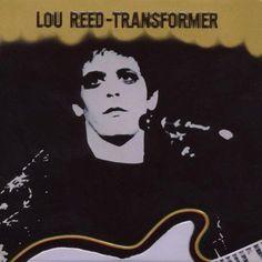 Lou Reed - Transformer on LP Lou Reed Transformer, The Velvet Underground, David Bowie, Lps, Iconic Album Covers, Cool Album Covers, Music Covers, Transformers, Glam Rock