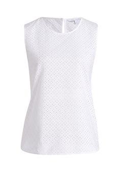 Spielerisch und Federleicht: an schönen Sonnentagen ist die Bluse von Diane von Furstenberg der ideale Begleiter, ob casual zu Jeans oder trendig im 70's Look zum Wildlederrock.