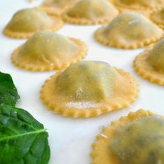 Homemade Ravioli with Spinach and Ricotta Cheese