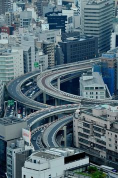 spushy: Tokyo, Japan Sky View By: *Sakura* Sky View, Beautiful Roads, Beautiful Places, Road Pictures, Aerial Photography, Tokyo Japan, Japan Travel, Monuments, Scenery