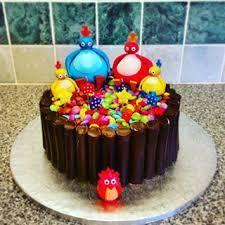 Twirlywoos birthday cake