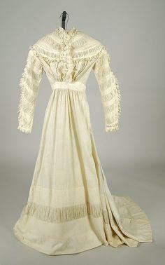 Dress Date: ca. 1865 Culture: American Medium: Cotton Accession Number: 2009.300.6599