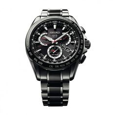 See the Seiko GPS Solar Dual Time watch - Movement : Electronic - Case : Titanium Sport Watches, Cool Watches, Watches For Men, Unique Watches, Casual Watches, Infinity Knot Ring, White Gold Hoops, Casio Edifice, Solar Watch
