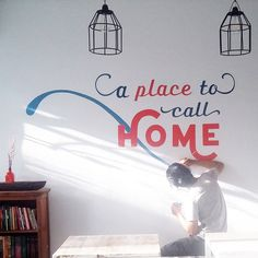 """Check out my @Behance project: """"Sign and Hand Lettering Mural for Koplin's Place"""" https://www.behance.net/gallery/46511199/Sign-and-Hand-Lettering-Mural-for-Koplins-Place"""