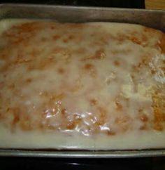 Add jello packet to cake mix☆♡