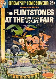 WHAT?? THE FLINTSTONES GOT TO GO AND I DIDN'T??!!! NO FAIR...FOR ME :-((
