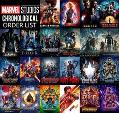 Best Order to Watch All the Marvel Movies Before Black Widow