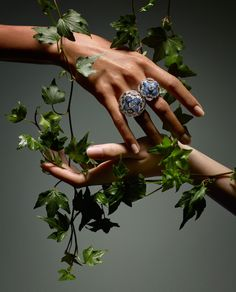 This season's couture jewelry options are a garden of earthly delights. See more on wmag.com.