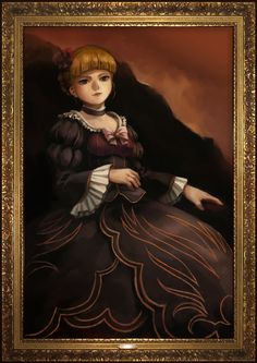 Umineko no Naku Koro ni - Beatrice Portrait // #ContesDefaits #Ronce