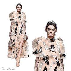 @kendalljenner #FashionBlogger #FanArt #FashionArt #Kendall #fashionillustration #Fashionmodel #Fashion #design #Illustration #fashionillustration #Jenner