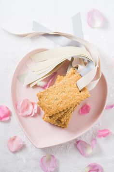 These beautiful #herb #shortbread #biscuits are perfect for any occasion. #cookies #pastel #heart #plates #foodstyling #foodphotography