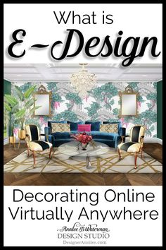Want to redecorate with a plan?  E-Design is a thoughtful and modern approach to interior design, managed virtually, exclusively via online communication.