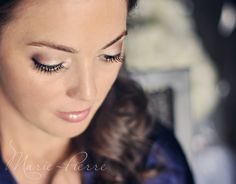 Shannon's makeup on her wedding