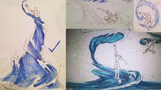 Waterbending Sketchdump by moptop4000.deviantart.com on @DeviantArt