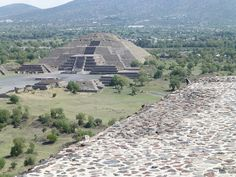 Valley of Mexico - ruins of Toltec capital - Teotihuacan