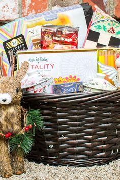 Gift Basket Ideas for Christmas via Fancy Shanty for Cost Plus World Market www.worldmarket.com #JoyToTheWorldMarket