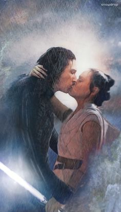 """"""" - I feel canon Reylo in this chilli's tonight - Star Wars Kylo Ren, Rey Star Wars, Star Wars Saga, Finn Star Wars, Star Wars Padme, Star Wars Fan Art, Star Wars Canon, Star Trek, Star Citizen"""