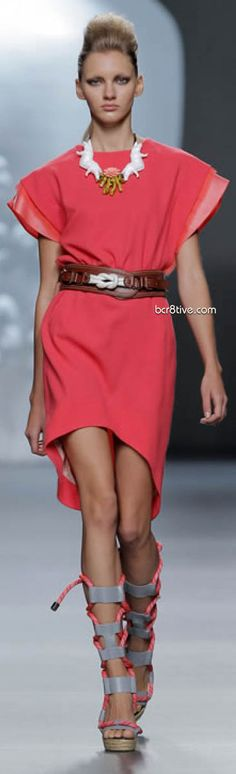 Ana Locking Spring Summer 2012 Mercedes-Benz Fashion Week Madrid