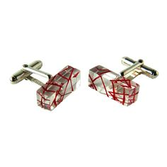 Quartz Cufflinks, by Sarah Packington available at Seek and Adore