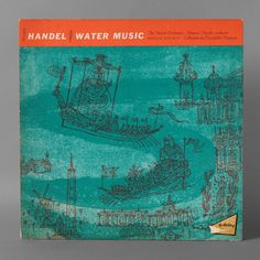 vintage Handel Record Cover by Joseph Low