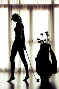 Not into golf, but I could use the idea of silhouette but with my man and his soccer ball. Sexy Golf, Photography Women, Silouette Photography, Golf Player, Lpga, Great Pic, Golf Lessons, Golf Humor, Boudoir Photos