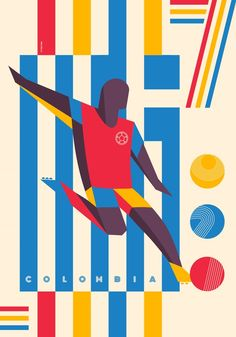 Typozon represents Colombia in the 326490.com creative world cup challenge Colombia 3-0 Greece