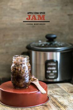 Apple Chai Spice Jam