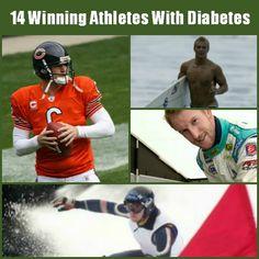 14 Pro Athletes With Diabetes And Succeeding #diabetes #teamdiabetes #t1d