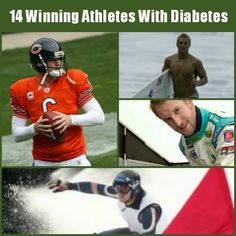 14 Pro Athletes With Diabetes And Succeeding #diabetes #teamdiabetes #t1d
