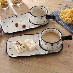 Ceramic Tableware, Ceramic Clay, Ceramic Pottery, Pottery Art, Diy Clay, Clay Crafts, Keramik Design, Cute Kitchen, Ceramics Projects